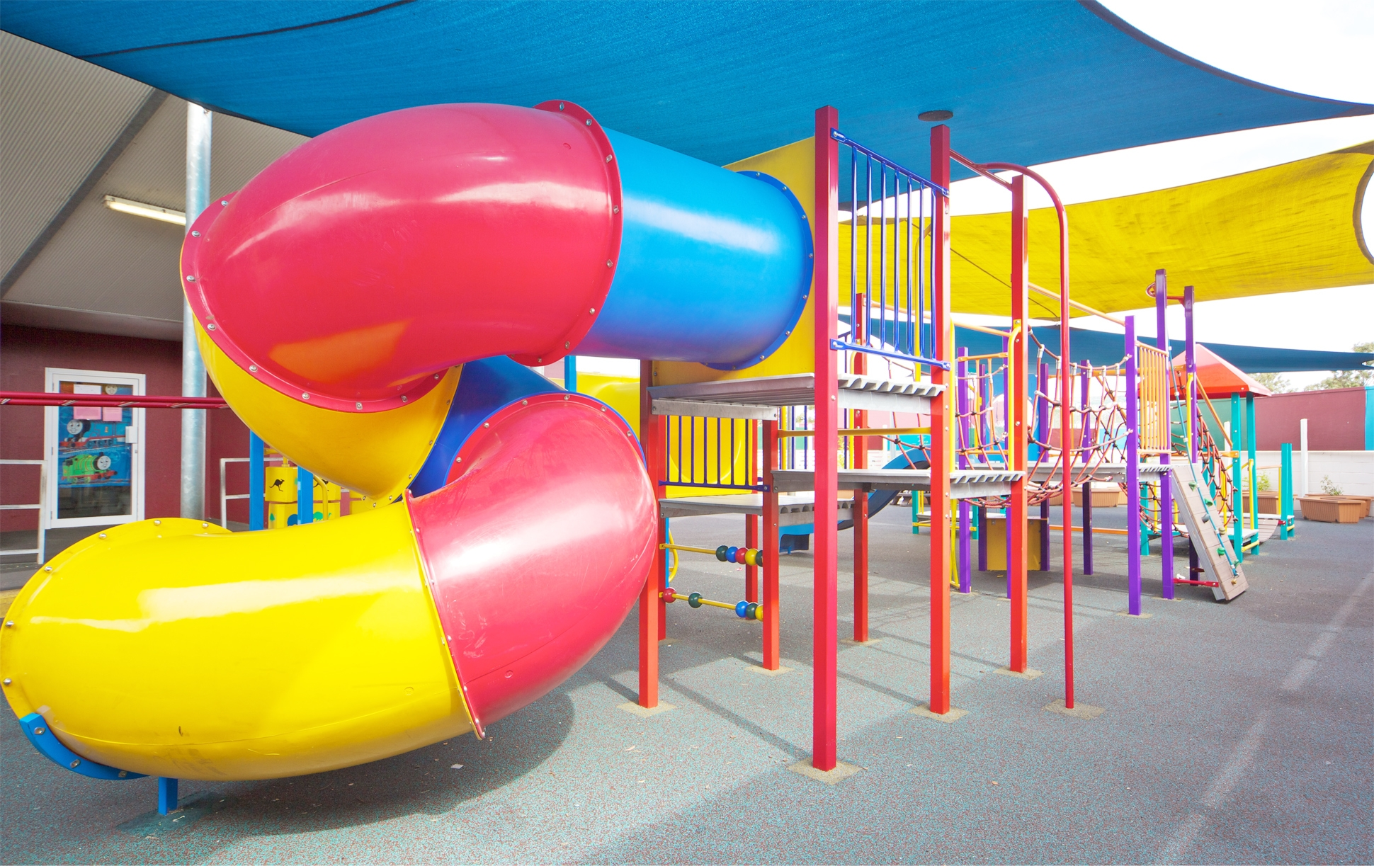 Spiral Slide - Motion in the playground