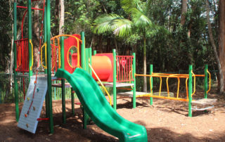 Playground with Bark Softfall