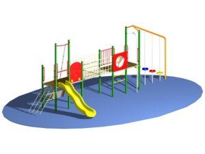 Playground Design of Play Duo 3