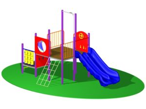 Playground Design of Play Fort 1 - 4