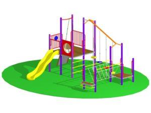 Playground Design of Play Gym