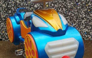 Blue Mono Car