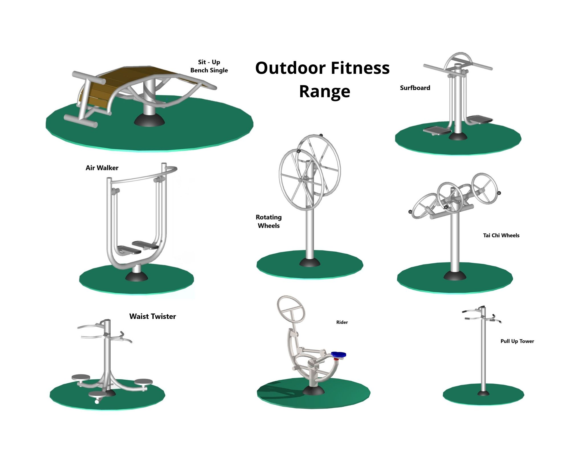 Outdoor Fitness Range