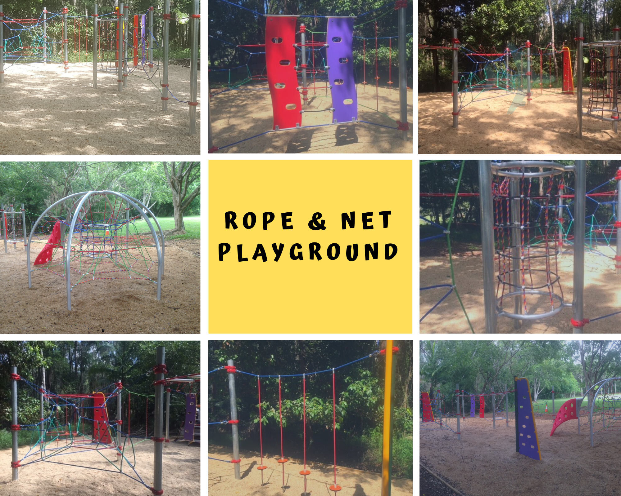Rope & Net Playground