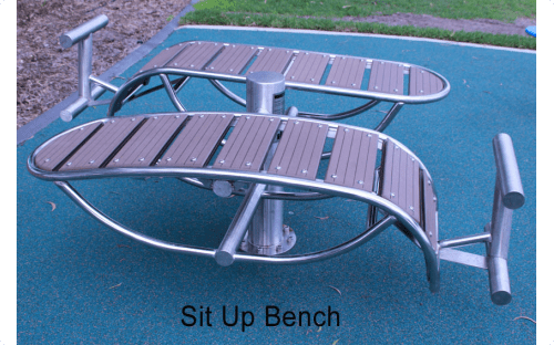 Sit Up bench double