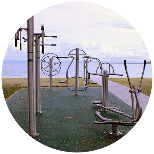 fitness Outdoor Playground Equipment