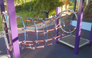 Tunnel Net - climbing playground
