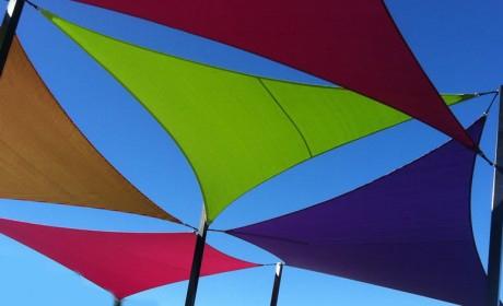 shade sail installation