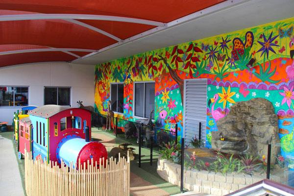 Indoor Playground Train