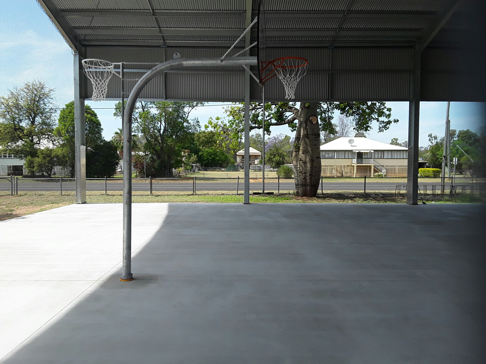 shading sport courts