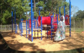 Outdoor Playground with Sand as Softfall