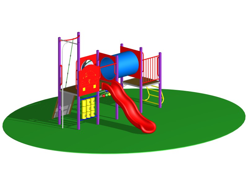 Playground Design of Play Duo