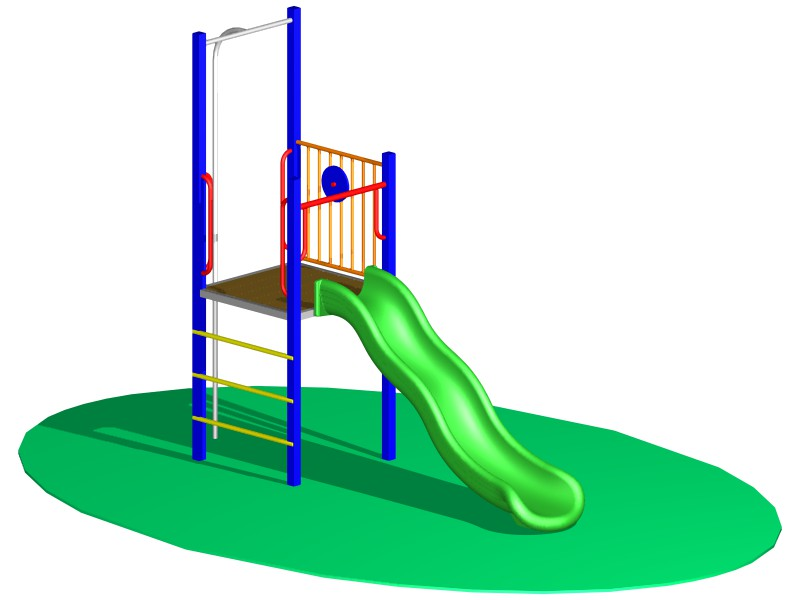 Design of Play Fort 1/4