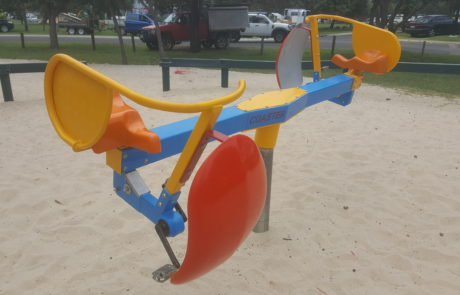 Pedal Power Coaster - Motion in the playground