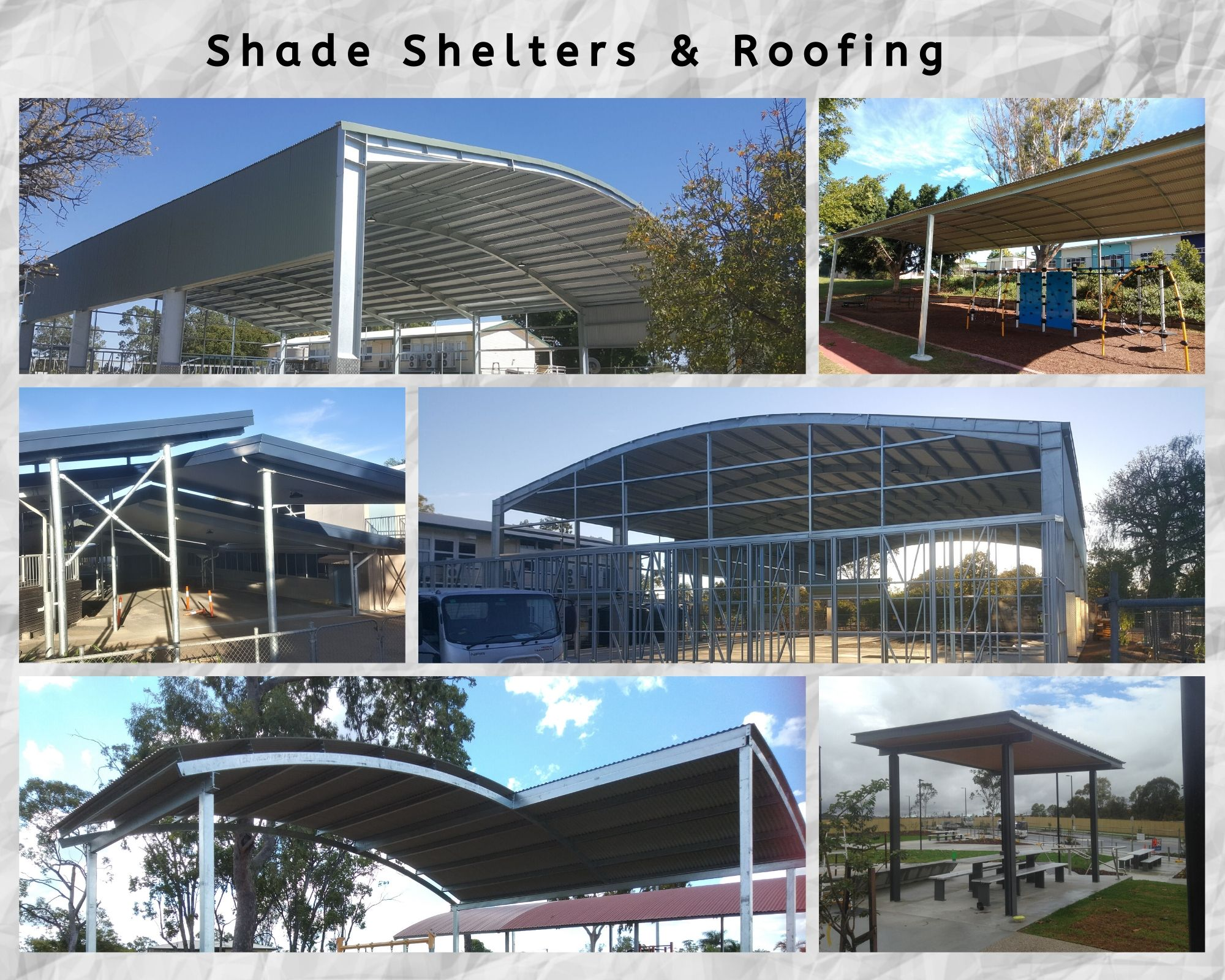 Shade Shelters & Roofing