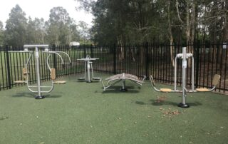 outdoor exercise & fitness equipment